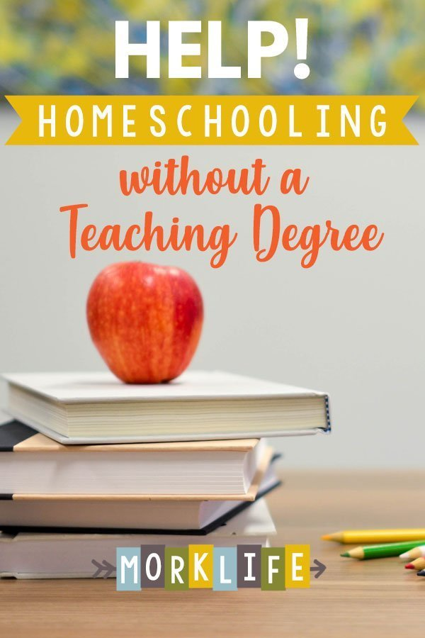 help for homeschooling without a teaching degree