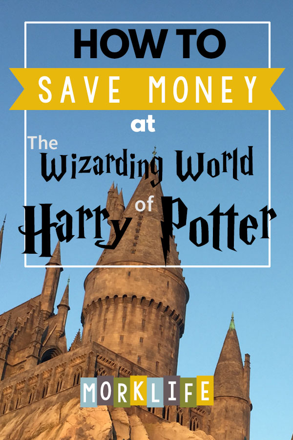 Money Saving Tips at Wizarding World of Harry Potter
