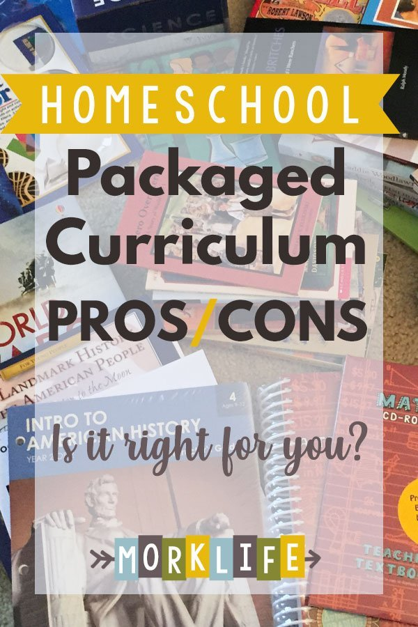 Homeschool Packaged Curriculum Pros and Cons