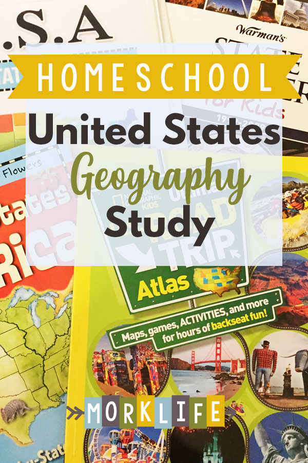 US Geography Homeschool Study