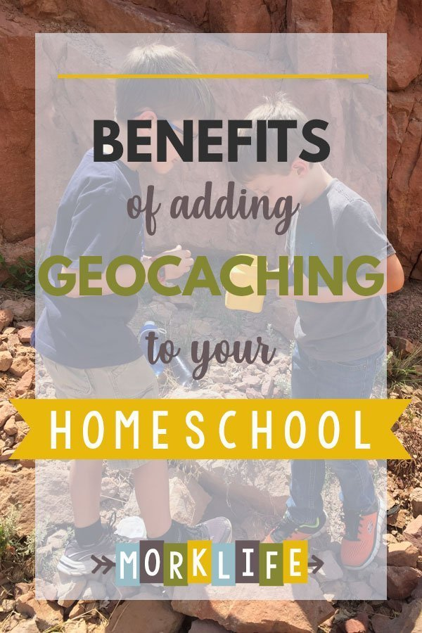 Reasons to add geocaching to your homeschool