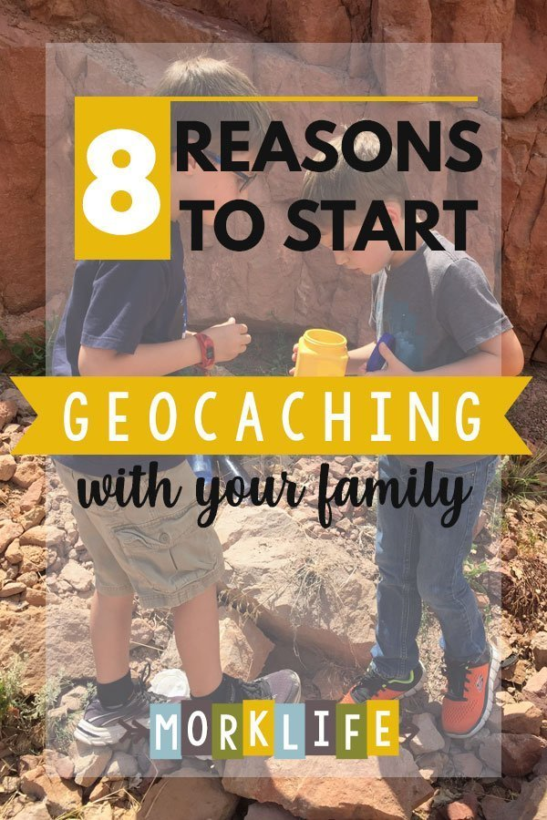 Reasons to start geocaching with your family