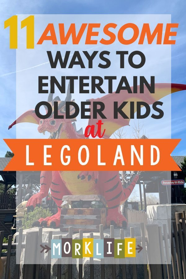 Awesome Ways to Entertain Older Kids at Legoland