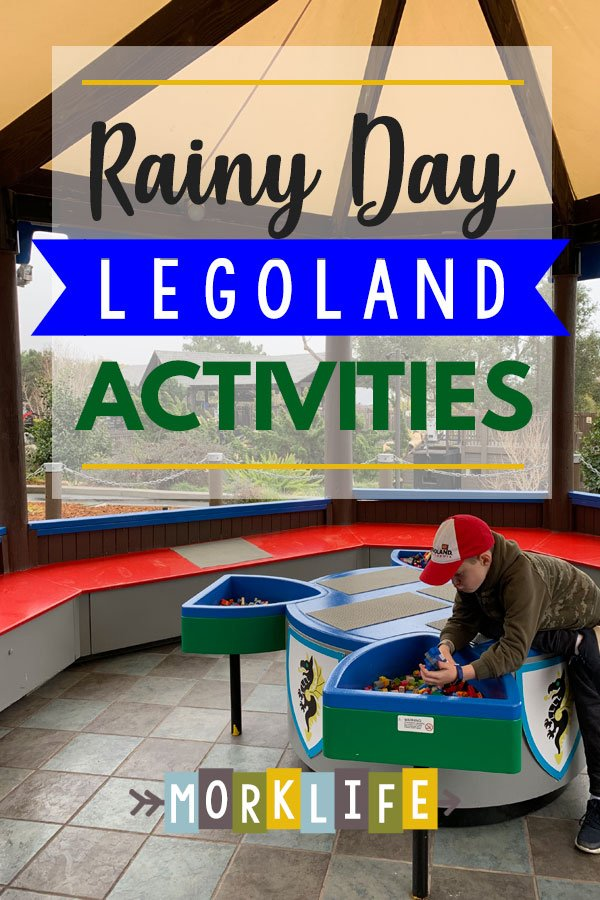 Rainy Day Legoland Activities