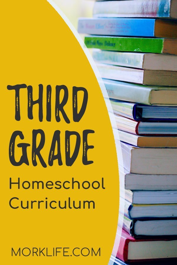 Third Grade Homeschool Curriculum