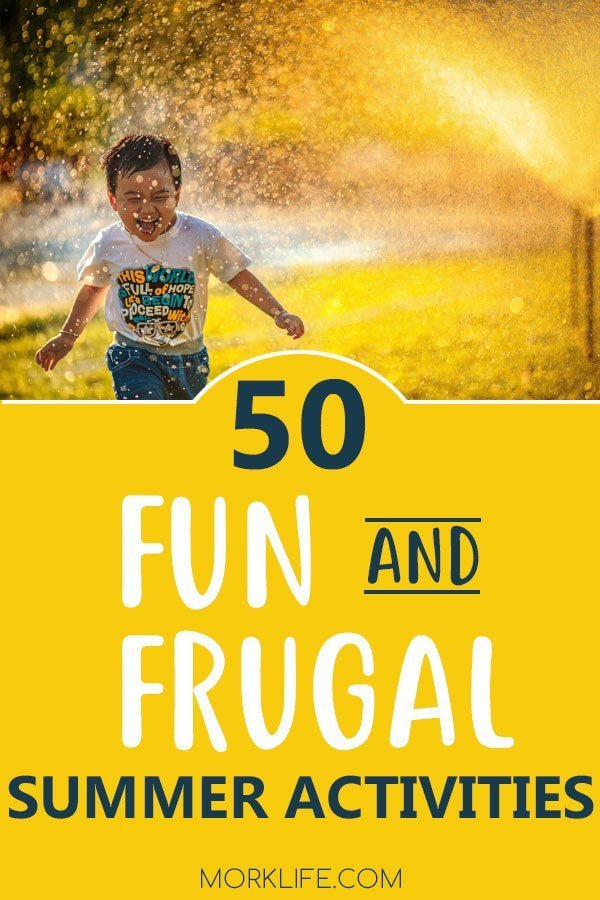 Pin this image Fun and Frugal Summer Activities