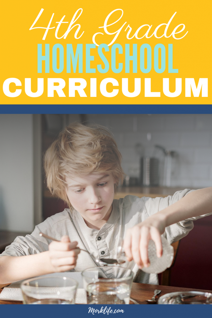 Fourth Grade Homeschool Curriculum. Looking for options for fourth grade? Check out these fourth grade homeschool resources.