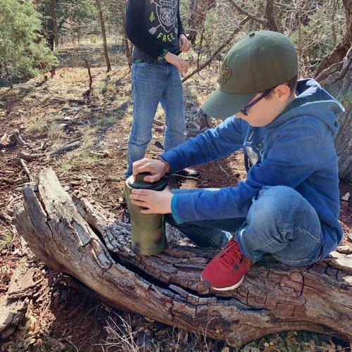 Free family adventure ideas - geocaching