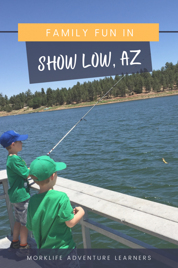 Family fun activities in Show Low AZ