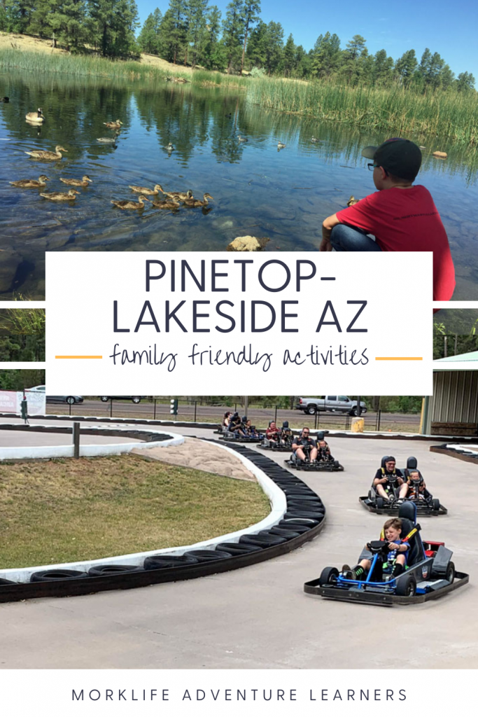 Family friendly activities in Pinetop AZ