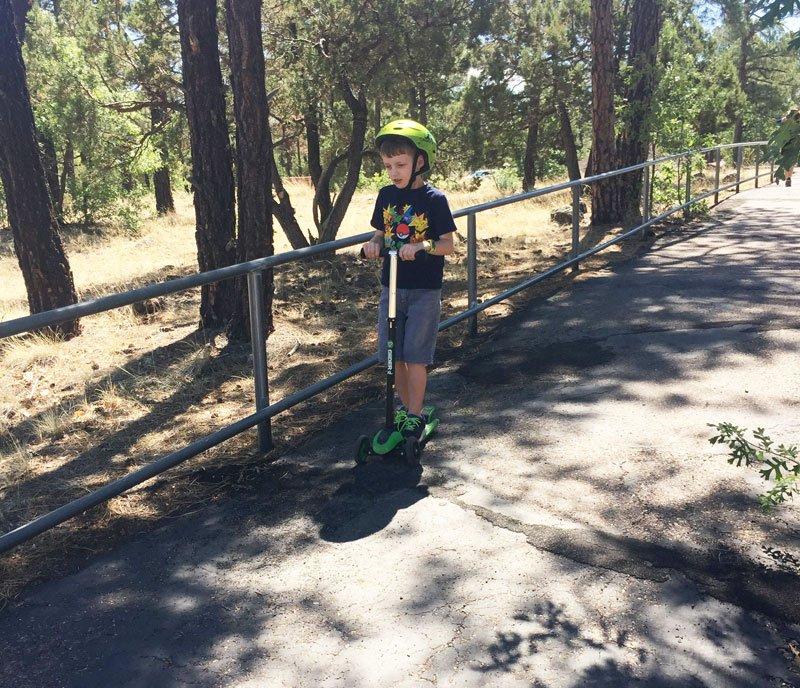 Family activities at Woodland Lake Pinetop AZ
